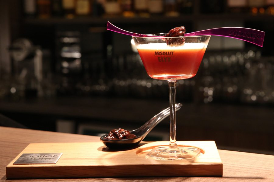 Groggy Tonka Bean Martini