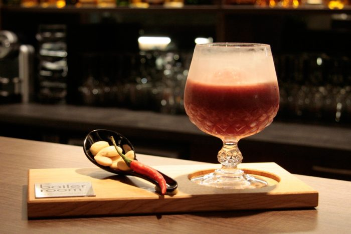 The Original Chili Raspberry Martini